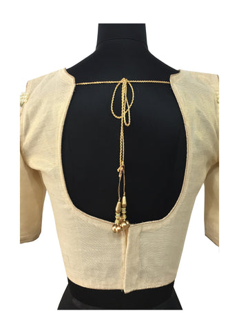 Pearl & Diamond Work  Blouse