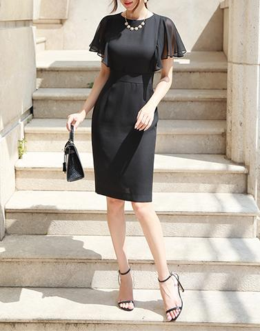 Mary Allen Black Dress