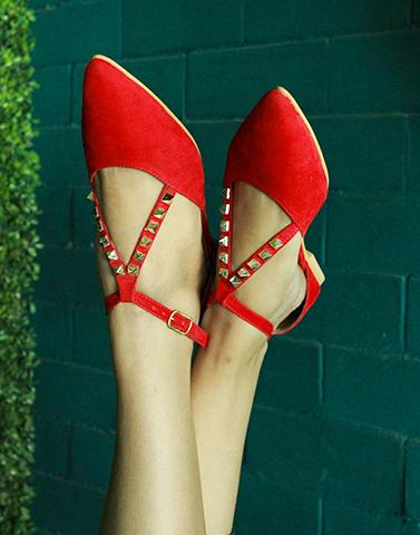 Vogue Pointed Flats