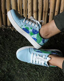 Jungle Print Blue Kicks