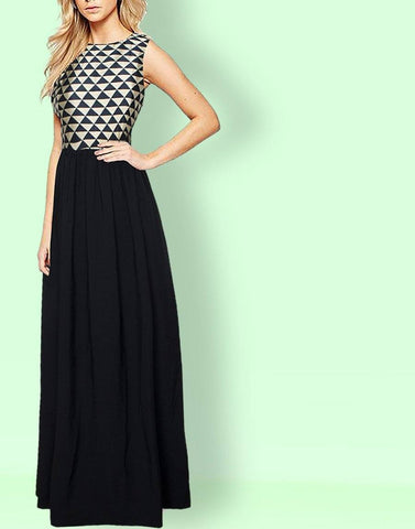 Miss Chic Stylish Gown