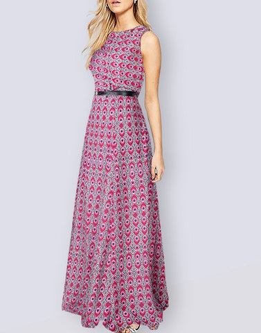 Comfy Printed Long Gown