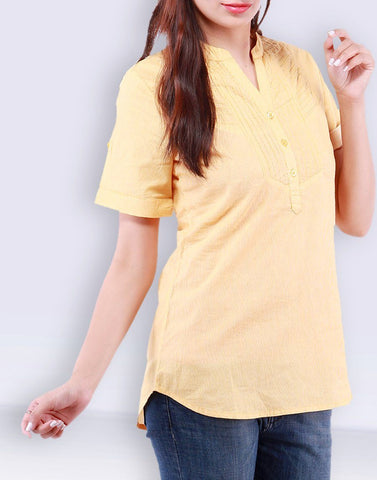 Solid Yellow Top