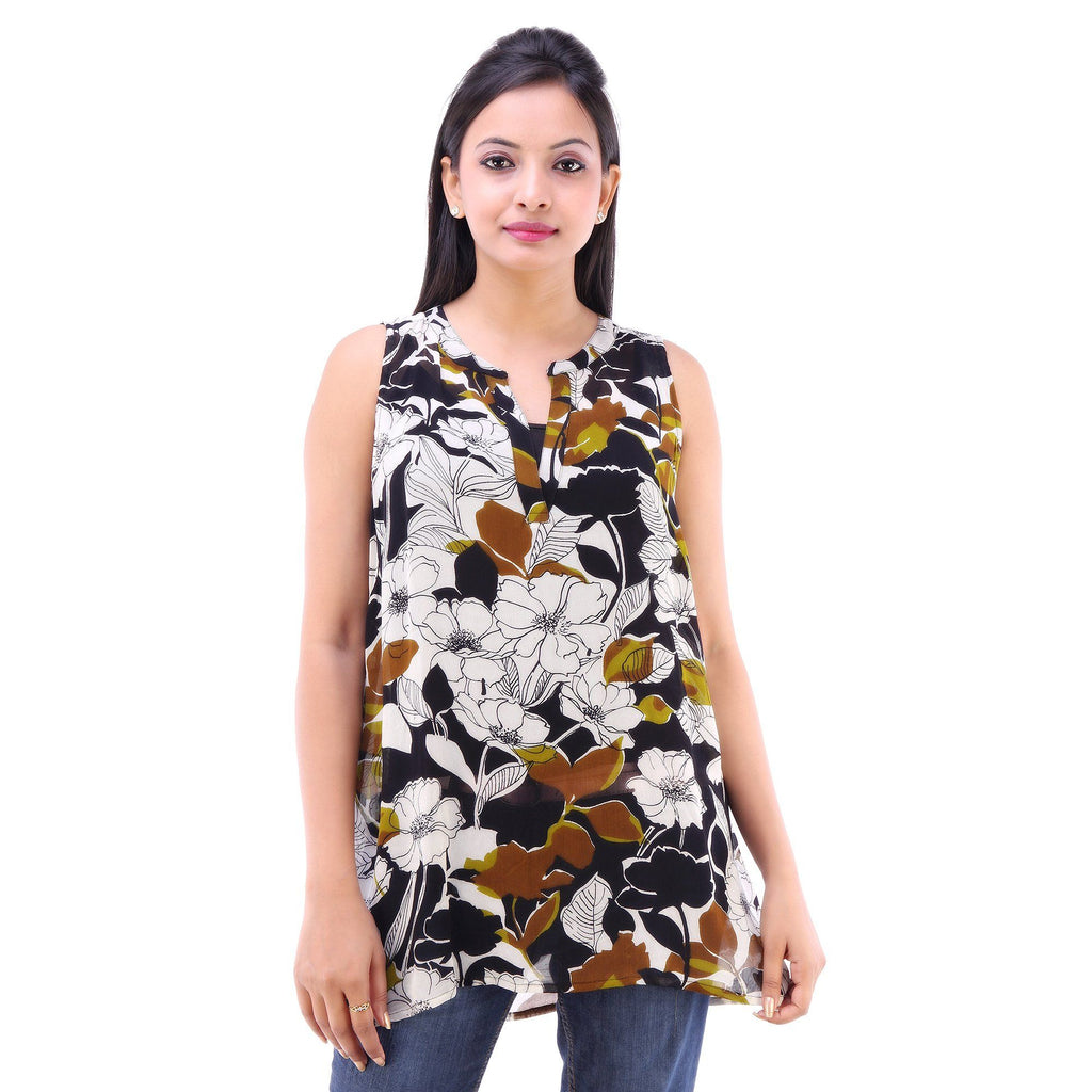 Casual Wear Ambrosial Georgette Tunic