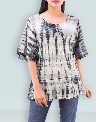 Casual Wear Chunky Cotton Top