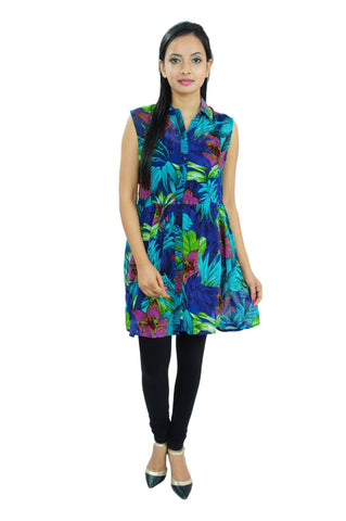 Casual Printed Georgette Tunic