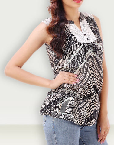 Casual Wear Ideal Polyester Top