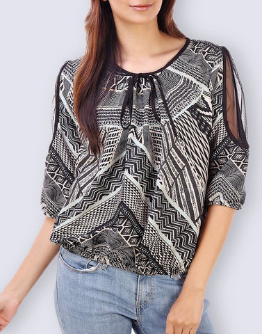 Casual Wear Enticing Polyester Top