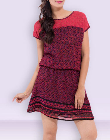 Casual Wear Admirable Rayon Dress