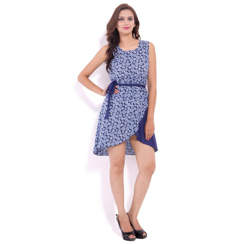 Printed Rayon Dress