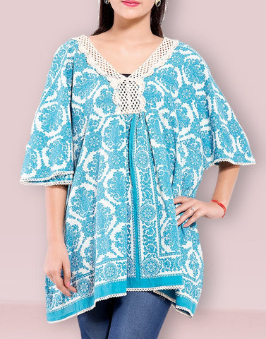 Casual Wear Loose Fitting Cotton Top