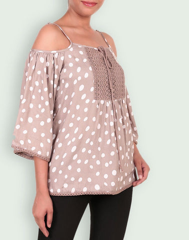 Casual Rayon Printed Top