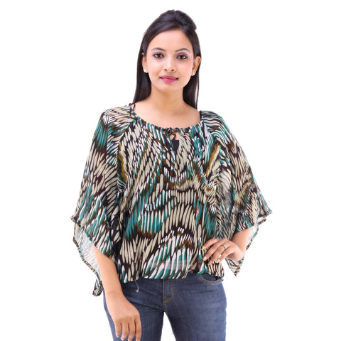 Casual Wear Alluring Georgette Top