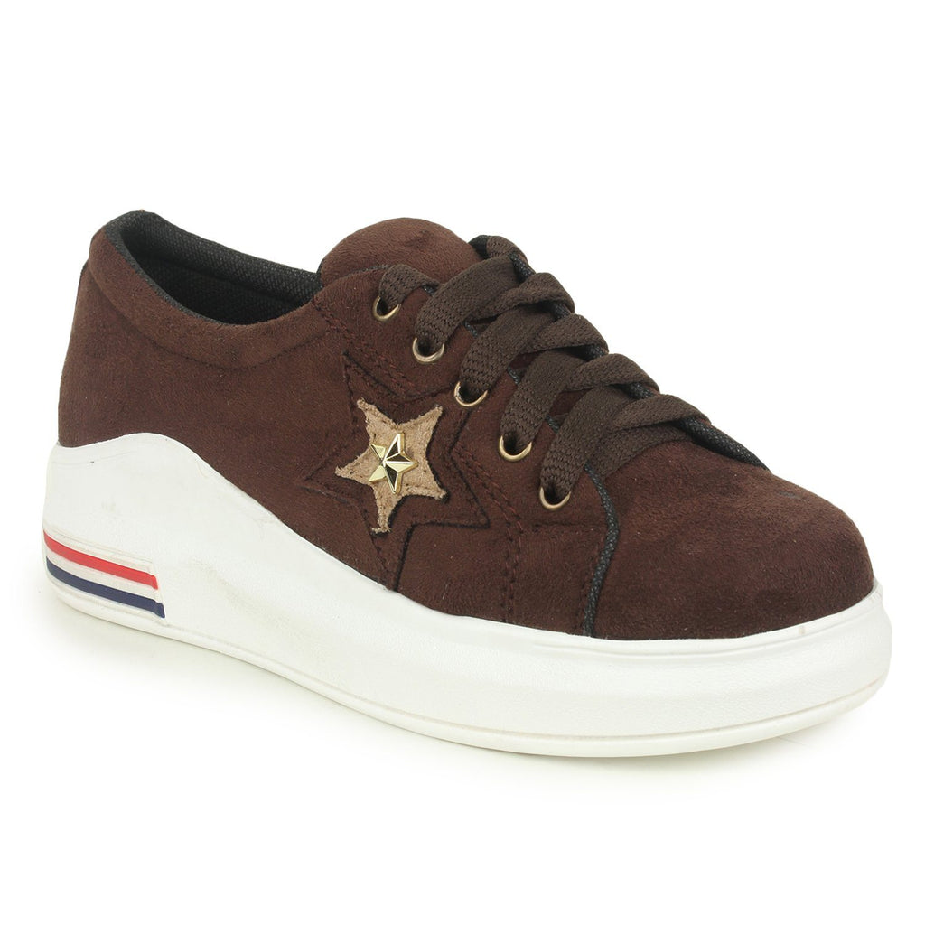 Brown Casual One Star Sneakers