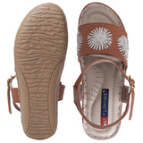MSC Women Synthetic Beige sandal