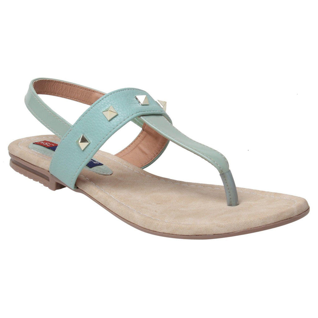 MSC Women Synthetic Blue sandal