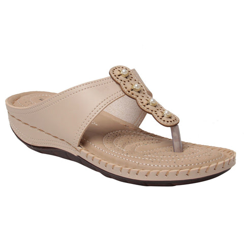 MSC Women Pink Synthetic sandal
