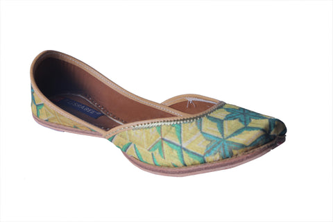 MSC Hand Printed Genuine Leather Juttis