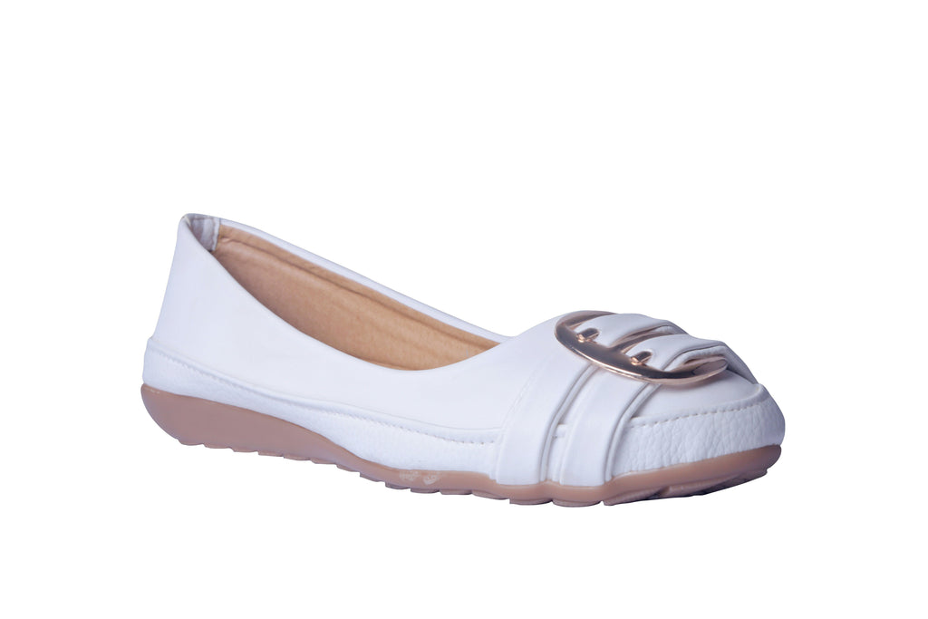 MSC Women Synthetic White Bellies