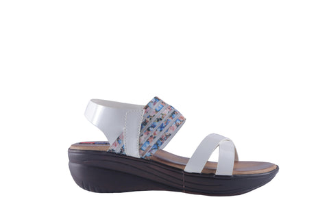 MSC Women Synthetic Party Wear Wedges