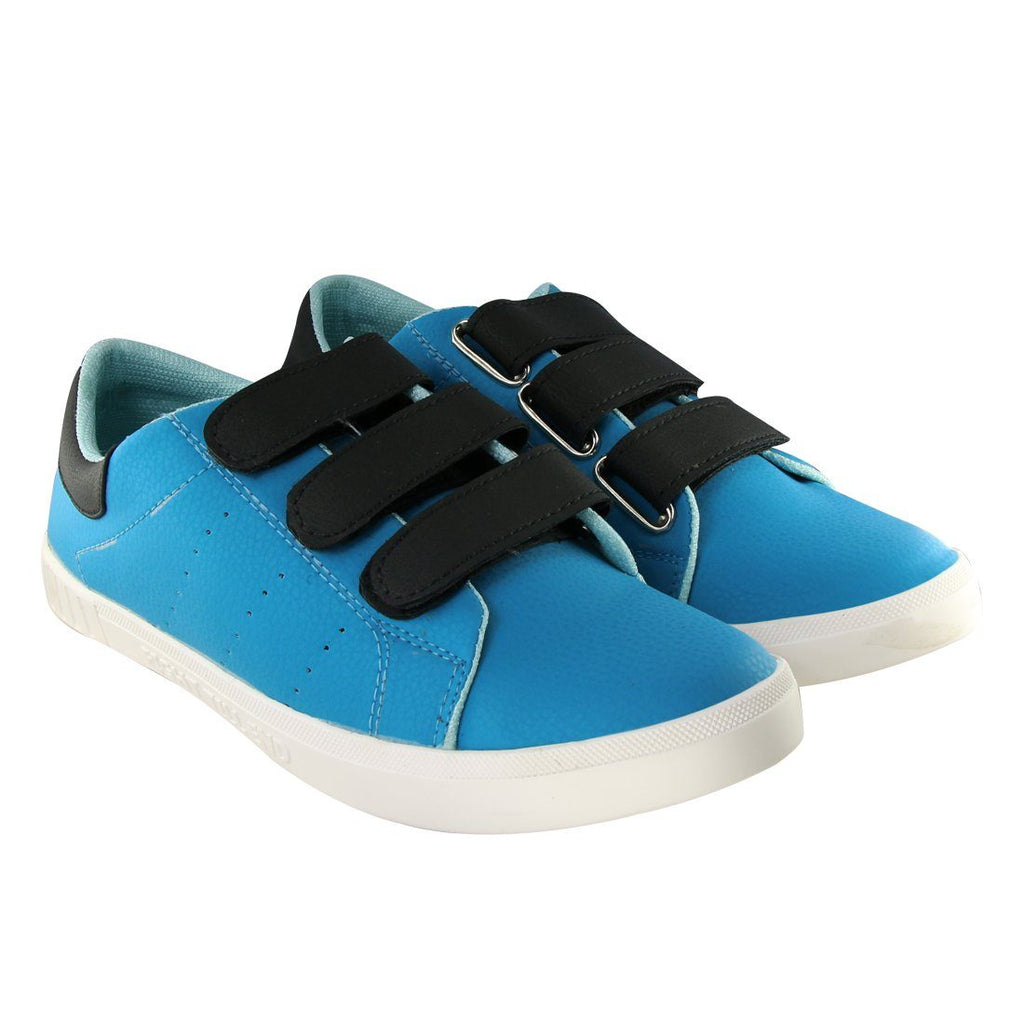 Blinder Sky Black Velcro Casual Sneakers Shoes For Men