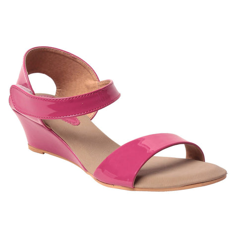 MSC Women Synthetic Pink Sandal