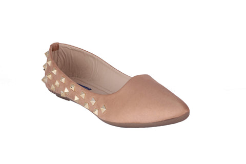 MSC Women  Suede Cream Belly shoe