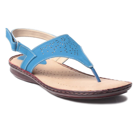 MSC Women Synthetic  Blue Footwear