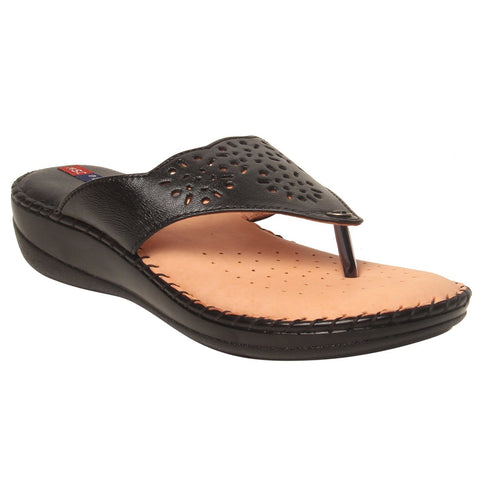 MSC Women Leather Beige Sandal