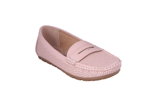 MSC Women Pink Synthetic Loafer