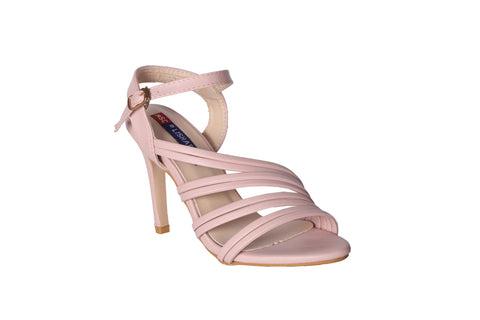 MSC Women Pink Synthetic Heels
