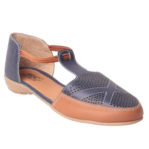 MSC Women Synthetic Blue Shoe
