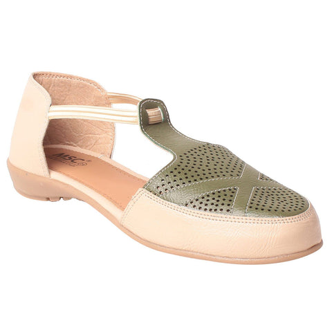 MSC Women Synthetic Green Shoe