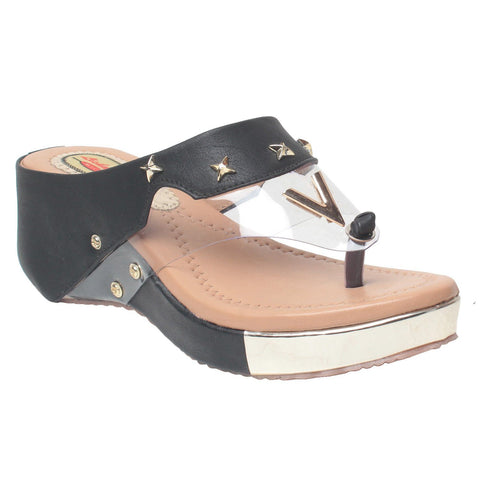 MSC Women Beige Synthetic wedges