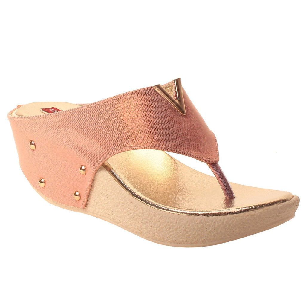 MSC Women Olive synthetic wedges