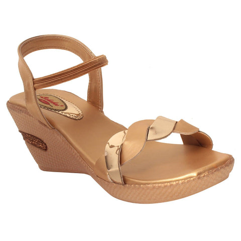 MSC Women Synthetic Copper Sandal