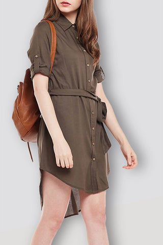 Olive Casual Jumpsuit