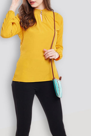 Yellow Lush Top