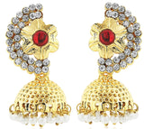 Kshitij Jewels Classic Gold Plated Jhumki Earring KJM018