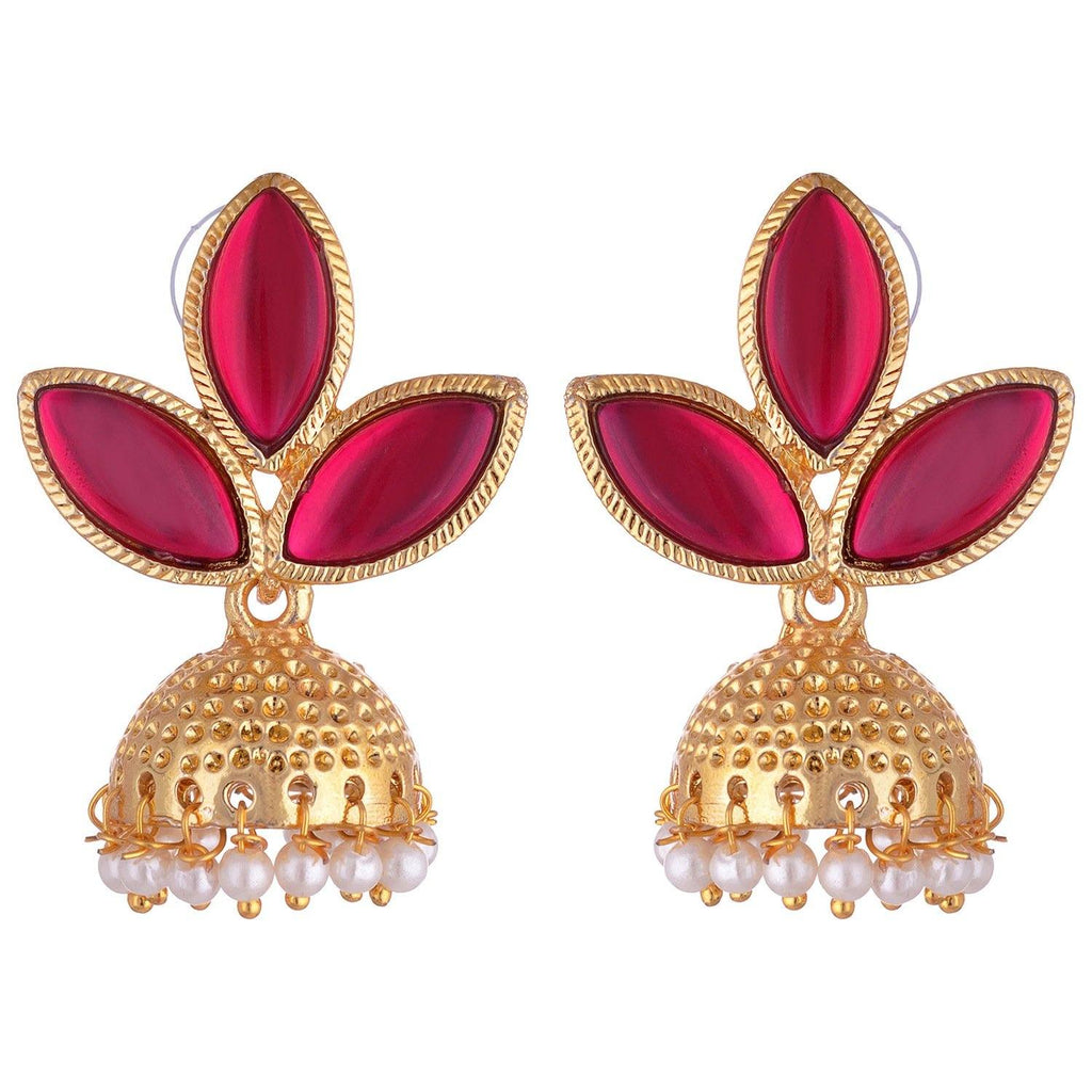 Kshitij Jewels Classic Gold Plated Jhumki Earring KJM022