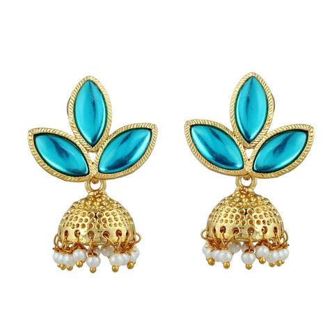 Kshitij Jewels Classic Gold Plated Jhumki Earring KJM023