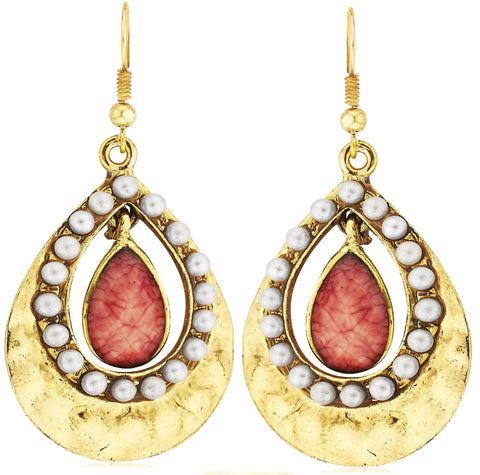 Kshitij Jewels Classic Gold Plated Hangging Earring KJM045