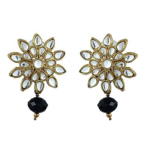 Kshitij Jewels Classic Gold Plated Stud Earring KJM111
