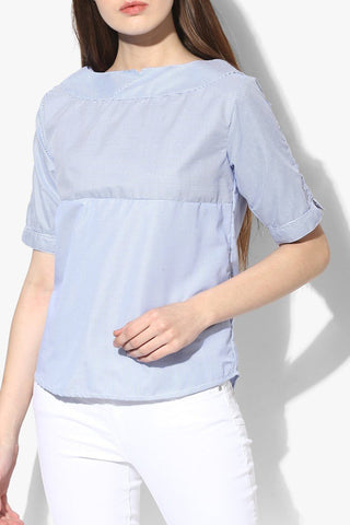Blue Women Top