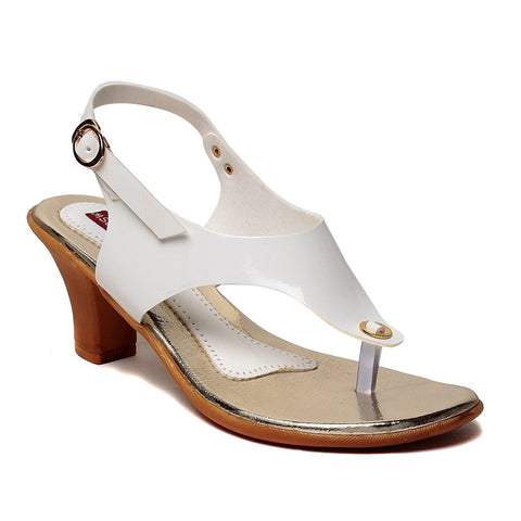 MSC Women Synthetic White Heel