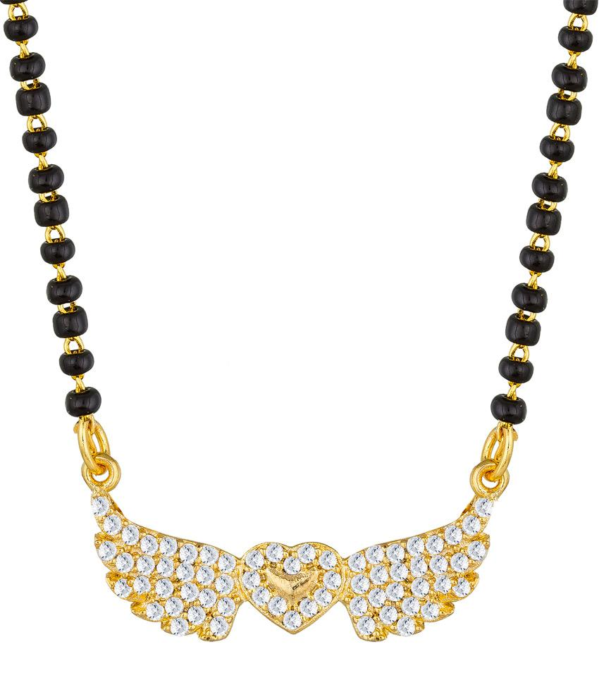 Aadita Ethnic Traditional Gold Plated Mangalsutra for Women