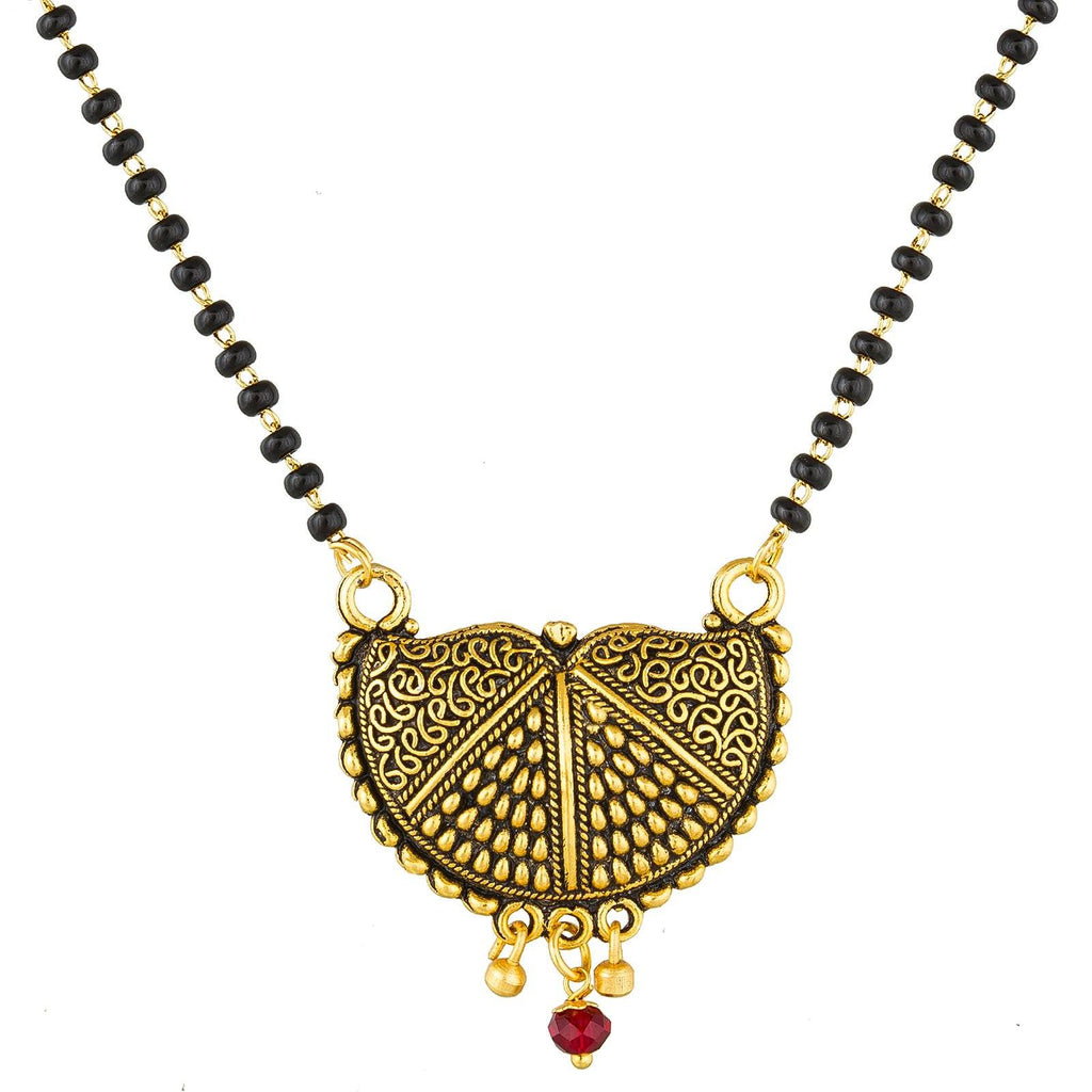 Aadita Ethnic Traditional Bridal Stylish Gold Plated Manalsutra for Women