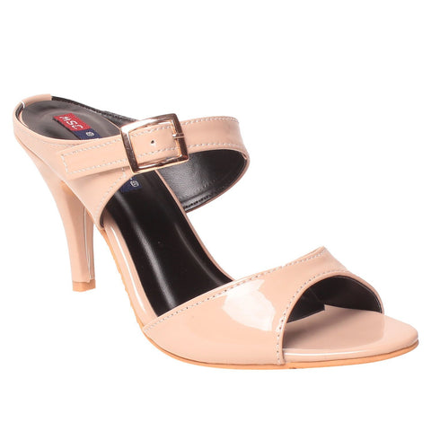 MSC Women Synthetic Cream Heel