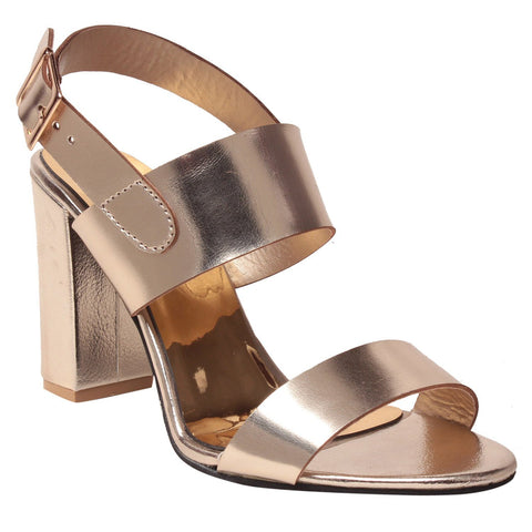 MSC Women Synthetic  Gold Footwear