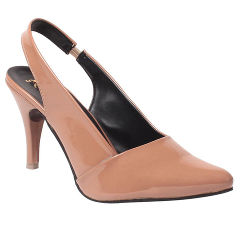 MSC Women Synthetic Brown Heel